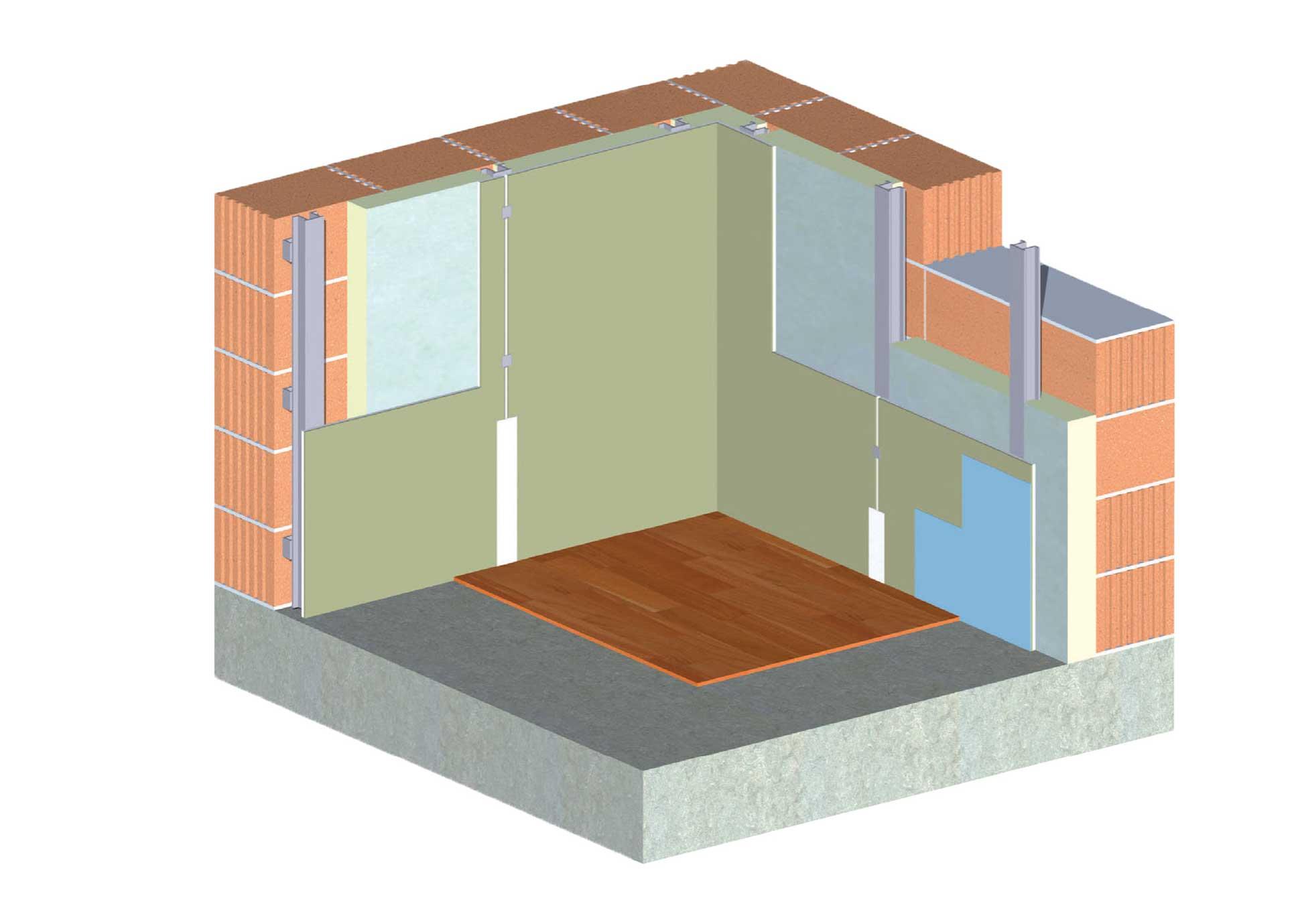 Isolamento termico pareti interne come isolare le pareti di casa